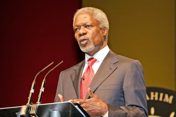 <span>Kofi Annan</span>